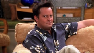 The Idea Of A 'Friends' Reunion Is Giving Matthew Perry Nightmares