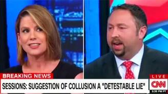 Former Trump Spokesman Jason Miller Receives A Swift Rebuttal For Calling Kamala Harris 'Hysterical' On CNN