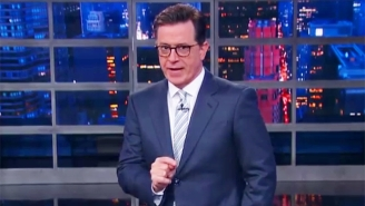 Stephen Colbert Reminds Us That The Latest Trump Tweets Are Not A New Low