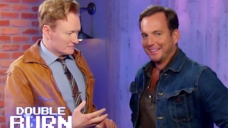 Conan And Will Arnett Bruise Each Other's Pride While Testing Out 'Arms' For Nintendo Switch On 'Cluless Gamer'