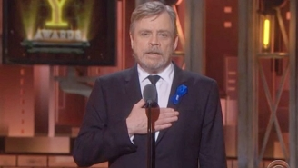 Mark Hamill Introduced The Tonys 'In Memoriam' Segment Honoring Carrie Fisher And Broadway Greats