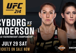 UFC Strips De Randamie Of 145 Pound Belt, Adds Cris Cyborg Vs. Megan Anderson For The Title At UFC 214