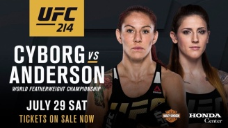 UFC Strips De Randamie Of 145 Pound Belt, Adds Cris Cyborg Vs. Megan Anderson For The Title At UFC 214