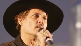 Johnny Depp Likely Earned A Secret Service Visit Thanks To His Comment About Assassinating The President