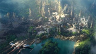 These New Photos Show Star Wars Land Will Be Huge