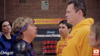 The Cast Of 'DodgeBall' Is Back Together And They're Looking For New Teammates