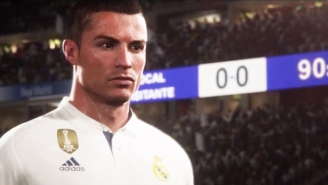 'FIFA 18' Gets An Incredibly Smooth E3 2017 Trailer Featuring Cristiano Ronaldo In A Mo-Cap Suit