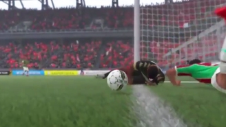 This Is Easily The Most Impressive 'FIFA' Non-Goal In The History Of Digital Sports