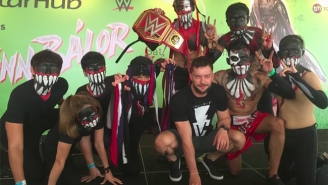 It Sounds Like A WWE Bálor Club May Not Happen For A While, If Ever