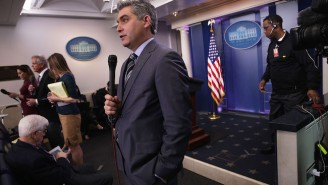 CNN's Jim Acosta Completely Went Off On The Trump White House On Twitter Today