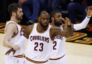 LeBron Was Drinking Wine With Kevin Love When Kyrie Irving Called Him (UPDATED)