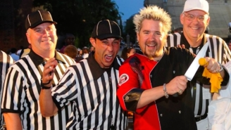 Guy Fieri Finally Spills The Secret Of His Infamous 'Donkey Sauce'