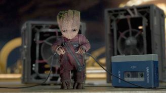 Watch How 'Guardians Of The Galaxy Vol. 2' Director James Gunn's Sweet Moves Inspired Baby Groot's Dancing