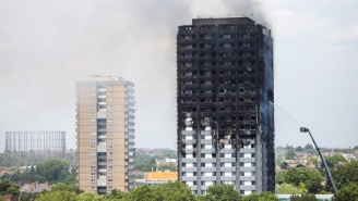 Hundreds Of Buildings In England Are Covered In The Same Combustible Material As Grenfell Tower