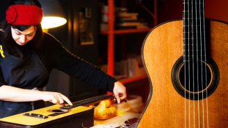 Meet The Designer Who Ditched Her Day Job To Build Beautiful Guitars