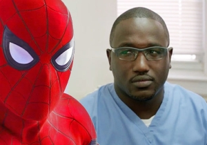 Hannibal Buress Sent His Doppelganger To Take His Place At The 'Spider-Man: Homecoming' Premiere