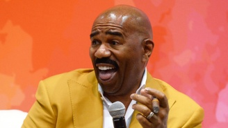 Steve Harvey Jokingly Told A Talk Show Caller From Flint To 'Enjoy Your Nice Brown Glass Of Water'