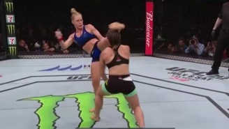 UFC Singapore Results: Holly Holm Knocks Out Bethe Correia With A Huge Head Kick