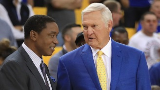 The Clippers Hire Jerry West Away From The Warriors To Be A Consultant