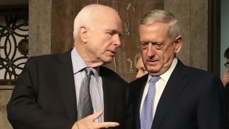 John McCain Blasts Defense Secretary James Mattis After He Admits 'We're Not Winning In Afghanistan'