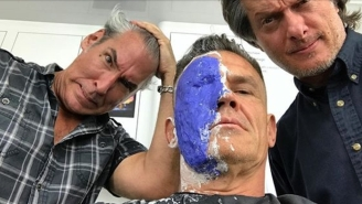 Josh Brolin Is 'Insanity On The Brink' In This Behind-The-Scenes Tease Of Cable In 'Deadpool 2'