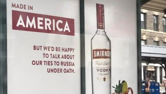 Smirnoff Throws Some Shade At Trump And His Russia Scandals With Their New Advertising
