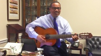 Rep. Keith Ellison Busts Out A Celebratory Song After Minneapolis Passes $15 Minimum Wage