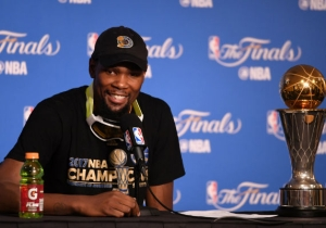 Kevin Durant Was Prepared To Take Less Money To Help The Warriors Land Rudy Gay