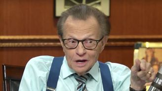 Do You Want To Hear Larry King Say The F-Word Eight Times In 60 Seconds?