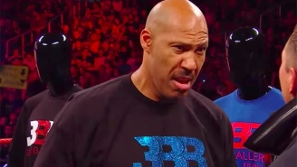 LaVar Ball Didn't Exactly Bring Big Ratings To WWE Raw