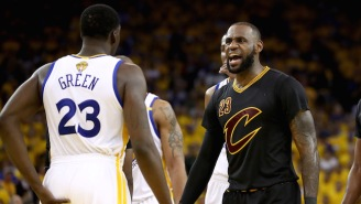 LeBron James Channeled His Inner Michael Scott In Response To Draymond's 'Quickie' Shirt