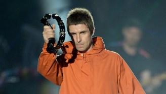 A Teacher Was Correcting Homework During Liam Gallagher's Glastonbury Set