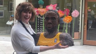 50 Questions About LintBron James, A LeBron Statue Made Of Lint, That Debuted Before Game 3