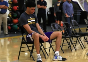 Lonzo Ball Apparently Didn't Blow The Lakers Away In His NBA Draft Workout
