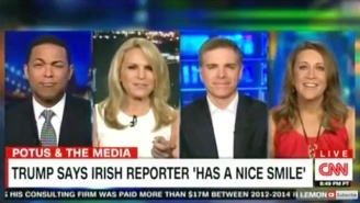 Don Lemon's Eyebrows Do Gymnastics As One CNN Contributor Makes Trump's 'Nice Smile' Comments Even Worse