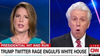 Jeffrey Lord Tries And Fails To Convince His Fellow CNN Panelists That Trump's Mika Tweets Weren't Sexist