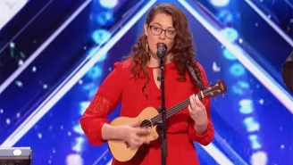 'America's Got Talent' Viewers Were Left Stunned After This Inspirational Performance From Deaf Musician Mandy Harvey