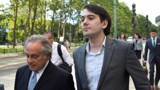 Martin Shkreli Tells Reporters He Can 'Do Whatever He Wants' While His Stunned Lawyer Looks On