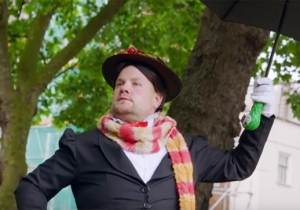 James Corden Enlists Sir Ben Kingsley To Bring 'Mary Poppins' To The Streets Of London In 'Crosswalk The Musical'
