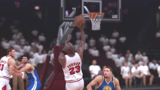 We Simulated The '96 Bulls Vs. The 2017 Warriors On NBA 2K To See Who's The Best Of All-Time