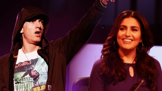 Here's Molly Qerim's Long-Delayed But Priceless Reaction To Eminem's 'Campaign Speech' Shout Out