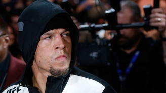 Nate Diaz Doesn't Believe Conor McGregor Won A Single Round Against Floyd Mayweather