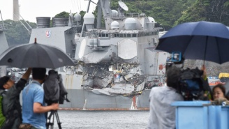 The Bodies Of Seven Missing Sailors Have Been Found Aboard The Damaged U.S. Navy Destroyer