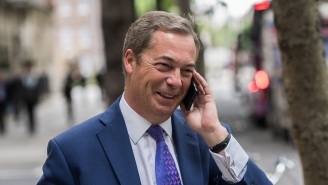 Nigel Farage Of Brexit Fame Is Reportedly A 'Person Of Interest' In The Trump-Russia Probe