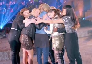 The Cast Of 'Pitch Perfect 3' Can't Stop Tearing Up In This Wrap Reel Footage