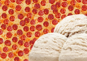 This Pizza-Flavored Ice Cream Is Capturing The Imagination Of The Internet