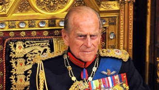 Prince Philip Was Hospitalized Overnight For An Infection, But He Appears To Be 'In Good Spirits'