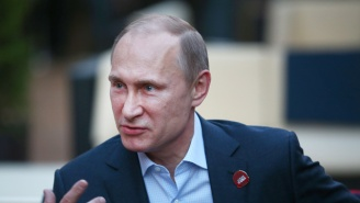 Vladimir Putin Claims That He Never Has Bad Days Because He's 'Not A Woman'