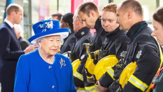 The Queen Visited The Site Of The London Tower Fire, But Theresa May Stayed Away Due To Security Concerns