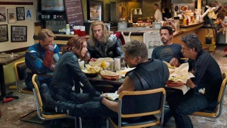A New Team Member Joins Iron Man And The Hulk At The Shawarma-Less 'Avengers: Infinity War' Meal Break